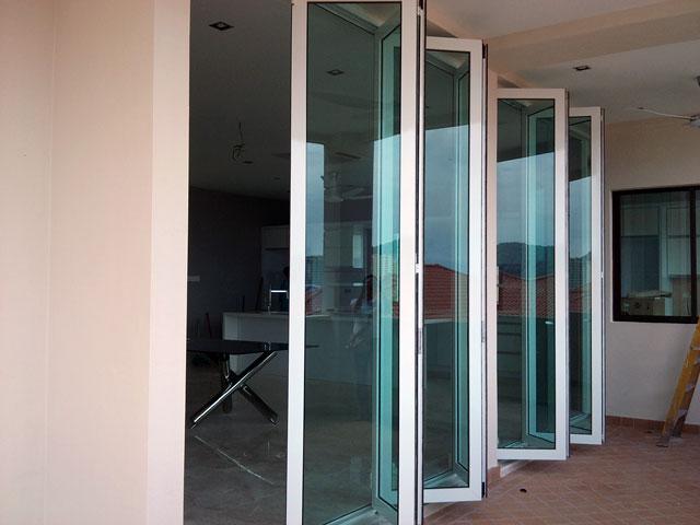 Outdoor Sliding & Folding Door: My Door Décor - Balcony Glass ...
