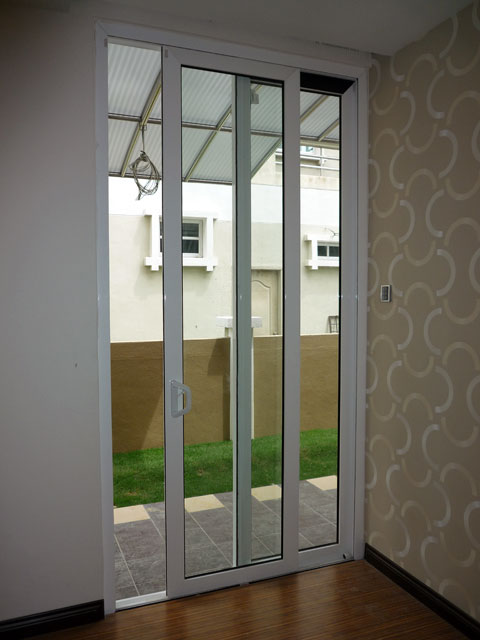 Multi Sliding Door With Two Panels